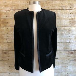 Vintage Oscar De La Renta Black Velvet Blazer